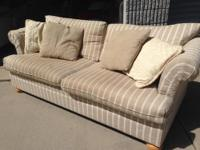 Tan Klassner sofa - NEW - Check out Sanfords Nifty