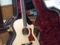 I have a brand new Taylor acoustic guitar 414ce I am