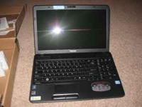 "i have a brand new in the box toshiba 15.6"" lap top"