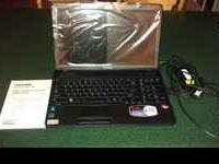 I am selling my brand new Toshiba model C655D-S5202