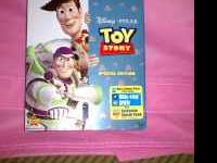 Toy Story Blu Ray/ DVD combo. Completely factory sealed
