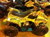 Not cheap Chinese! Nice 4 wheeler, comes is Pink, Camo
