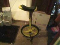 hi i have a brand new unicycle for sale thast comes
