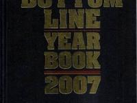 HERE IS A NEW, UNUSED HARD COVER BOTTOM LINES YEARBOOK