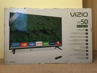 "I have a brand new Vizio 50"" 4K Ultra HD TV for sale."