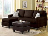 Brand NEW Vogue Reversible Chaise Sectional Price $499