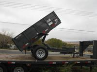 Brand New Walton 5x8 Dump Trailer In Stock Only One at