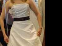 Brand new wedding dress for sale - size 4 - paid over