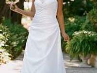 Never worn! Beautiful David's Bridal Dress! Tags on &