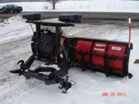 1- NEW WESTERN MVP 8.5 COMPLETE SNOW PLOW SETUP,