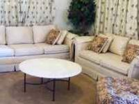 this is a brand new off-white 3 piece sofa with a
