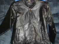 womens size s leather jacket $15  Location: piedmont
