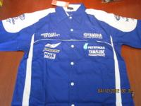 BRAND NEW SPORT MOTORCYCLE PIT CREW SHIRTS. ASSORTED