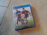 Brand new factory sealed FIFA 15 game for the PS4.