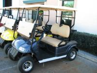 Brand new electric golf carts! Loaded with features.
