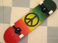 "KROWN RASTA PEACE 7.5"" X 31.25""   KROWN 5"" LOW PROFILE"