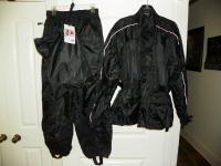 I purchased this rain suit last fall to use when I rode