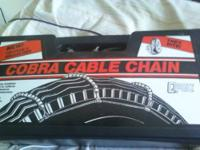 New Cable Tire Chains for sale. We bought new tires for