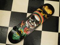 BRAND NEW SPEED DEMONS RASTA MIX MASTER SKULL COMPLETE