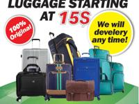 Type:Travel BrandName Luggage starting at 15$ ???100%