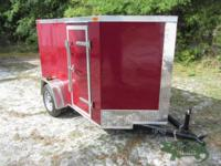 NEW! This enclosed trailer is from our Tampa, Florida