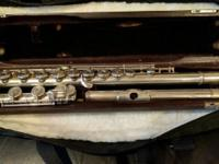 This is my beloved flute. My family bought it for me