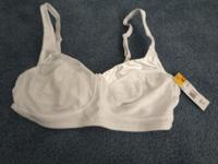 Fruit of the Loom Seamed Wirefree bras, 100% cotton,