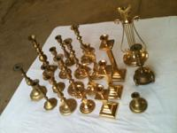 Your choice of brass candlestick holders for $3 each or