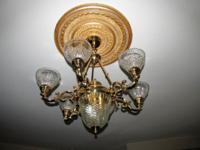 Beautiful Chandelier $500 This is coming out of a