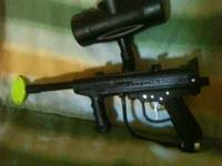 I hav a black brass eagle paintball gun for sale. It