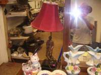 brass golf lamp can be seen at HAZEL GREEN THRIFT STORE