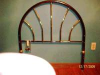 Girl's twin Brass Headboard. Excellent condition.