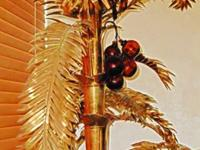 This is a Genuine Brass, 3 tier Palm Tree. It is very