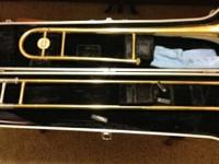 "This is a ""Selmer Bundy"". BRASS TROMBONE ...(VINCENT"