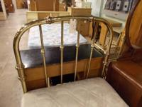 Nice metal double bed.  $95.  # REFGRQ040214-1. To