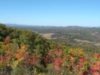 Views..views and more views! This 17.39 acre property
