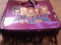 Bratz doll and accessories case can hold up to 4 dolls