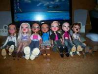 I have 23 different Bratz Dolls. I am asking 65.00 for