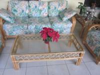 Braxton Culler 6 piece Livingroom Patio Set Bamboo.