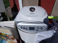 breadmaker, used a few times, great condition, $35,