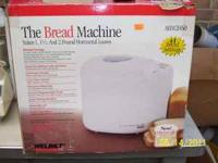 The Bread Machine by Welbilt Model ABM2H60 New in box -