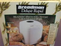 For Sale: Breadman Breadmaker.  This is model: TR444.