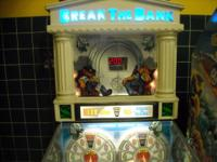 up for sale is a nice arcade  redemption