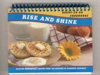 see pics This is the Rise and Shine Breakfast cookbook