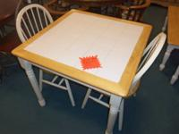 MORNING MEAL NOOK, TABLE WITH 2-CHAIRS ... WAS $199.00