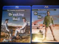Season 1 and 2 of the hit show Breaking Bad in like new