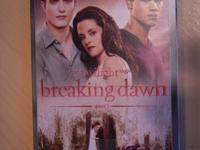 "Twilight Saga "" Breaking Dawn DVD"" brand new never"