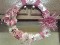 I have for sale some breast cancer awareness wreaths