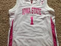 I have a number 1, bust cancer awareness Iowa State