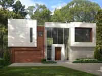 Exquisite modern new construction contemporary home in